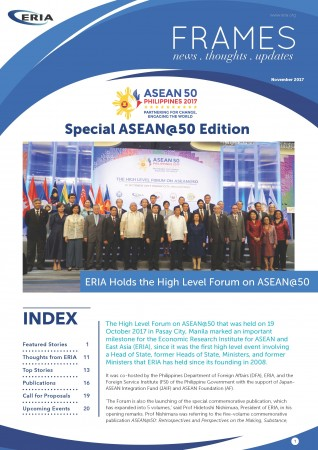 ERIA FRAMES : ASEAN@50 Edition | November 2017