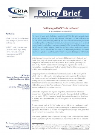 Facilitating ASEAN Trade in Goods