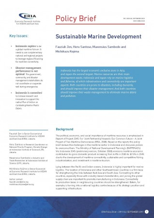 Sustainable Marine Development