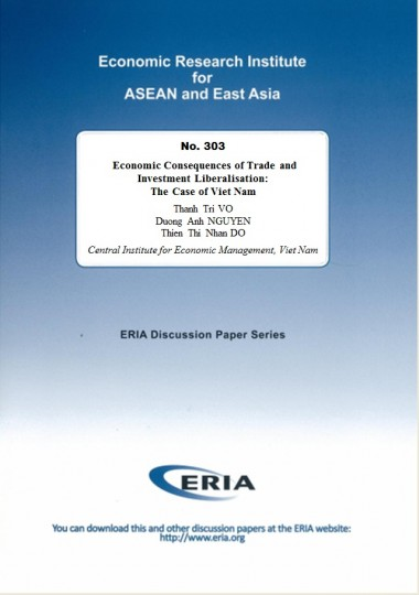 Economic Consequences of Trade and Investment Liberalisation: The Case of Viet Nam
