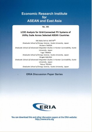 LCOE Analysis for Grid-Connected PV Systems of Utility Scale Across Selected ASEAN Countries