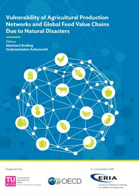 Vulnerability of Agriculture Production Networks and Global Food Value Chains  Due to Natural Disaster