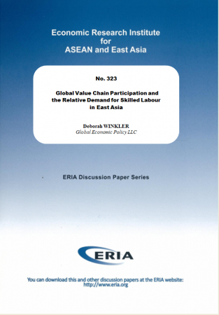 Global Value Chain Participation and the Relative Demand for Skilled Labour in East Asia