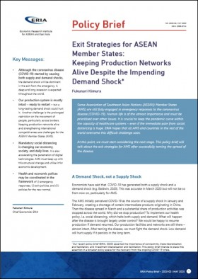 Exit Strategies for ASEAN Member States: Keeping Production Networks Alive Despite the Impending Demand Shock