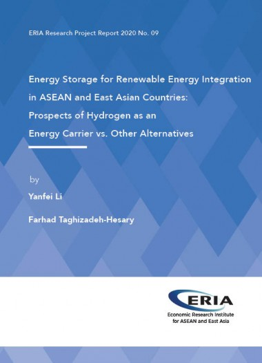 Energy Storage for Renewable Energy Integration in ASEAN and East Asian Countries: Prospects of Hydrogen as an Energy Carrier vs.  Other Alternatives
