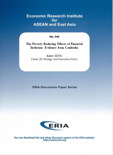 The Poverty-Reducing Effects of Financial Inclusion: Evidence from Cambodia