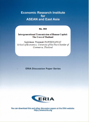 Intergenerational Transmission of Human Capital: The Case of Thailand