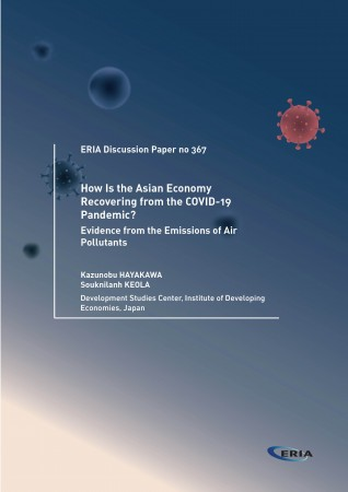 How Is the Asian Economy Recovering from the COVID-19 Pandemic? Evidence from the Emissions of Air Pollutants